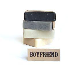 Men Soap gift set - Vegan Soap, Unscented Soap, All Natural Soap, Boyfriend gift set,. $20.00, via Etsy.
