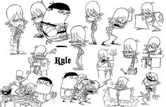 FB_Kyle_Expressions03 by Fred Seibert, via Flickr