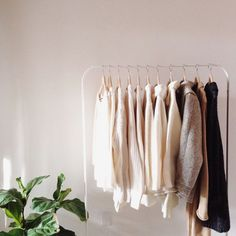 and my core closet. neutrality, timelessness, and quality.