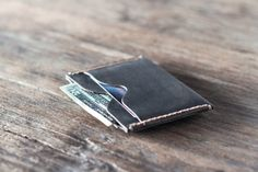Slim Mens Wallet The Inside Out Men's Leather Wallet by JooJoobs