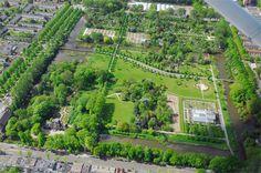 Buro Sant en Co landschapsarchitectuur - Park Frankendael, Amsterdam, shortly after realisation of the definite design
