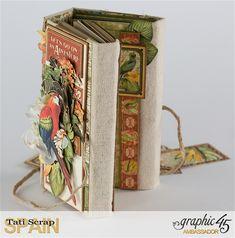 Tati, Safari Adventure Book, Product by Graphic 45, Photo 15
