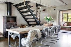 Loft Bed, Decor, Oversized Mirror, Inspiration, Furniture, Villa, Bed, Home, Home Decor
