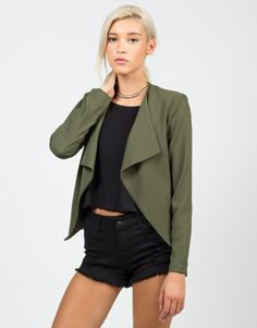 Drapey Blazer Jacket