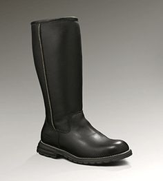 Womens Ugg Brooks Tall Boot in Black or Brown $250