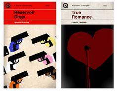 Les films de Tarantino version couvertures de livres par Sharm Murugiah
