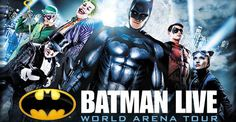 Win 2 tickets to see Batman Live at the American Airlines Center!
