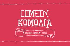 Unicorg Comedy by Elegrad Design Agency on @creativemarket