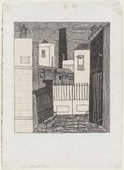 Stuart Davis (1892-1964) Adit, 1928 Lithograph on stone Courtesy of private collection