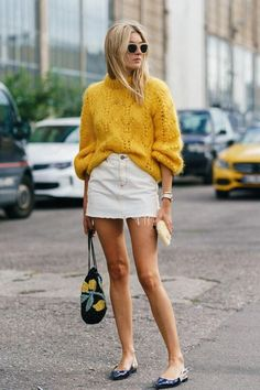 Floralkini Crochet Lantern Sleeve Chunky Sweater – FloralKini