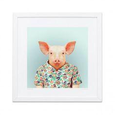Evermade Stampa Pig Zoo Portraits Idee regalo  Originali sotto i 50€