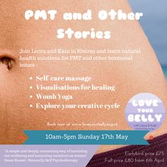 Rock your cycle and learn to maximise your creativity! Www.loveyourbelly.org.uk