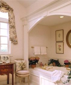 The moulding around this tub changed everything!