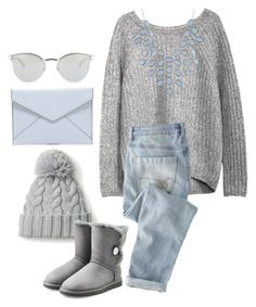 """."" by erixx ❤ liked on Polyvore featuring Fendi, Wrap, Rebecca Minkoff, UGG Australia and Charlotte Russe"