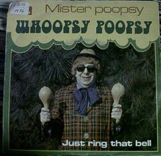 Scary Clown Mister Poopsy Whoopsy ~ Album Cover Art ! The Bad, The Funny The Worst