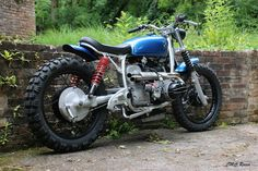Perfect BMW R60 Scrambler by CMC Racer #motorcycles #scrambler #motos | caferacerpasion.com