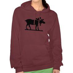 Moose on the Loose Hoodie