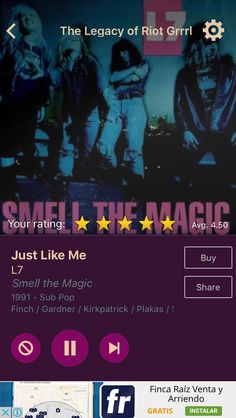 Just Like Me by L7 on AccuRadio