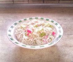 Zebra    Rodzinnie: Sałatka z makaronem ryżowym - lekko i przyjemnie