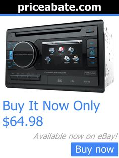 Vehicle Electronics And GPS: Power Acoustik Double Din Pd-342 Cd/Dvd/Mp3 Player 3.4 Lcd Display Usb Aux New BUY IT NOW ONLY: $64.98 #priceabateVehicleElectronicsAndGPS OR #priceabate