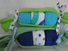 Peas in the Pod Washcloths