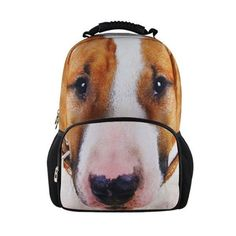3d DOG Animal Backpack, Children Bag School Cartoon Animal Backpack Bag #BIGCAR #Backpack