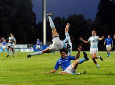 Matias Moroni Photos: Italy v Argentina - IRB Junior World Championship
