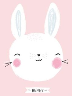 Bunny - Aless Baylis Baby Room Art, Kids Room Art, Art For Kids, Nursery Prints, Nursery Wall Art, Baby Clip Art, Baby Shower Invitaciones, Cartoon Stickers, Bunny Art