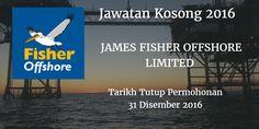 Jawatan Kosong JAMES SFISHER OFFSHORE LIMITED 31 Disember 2016  JAMES SFISHER OFFSHORE LIMITED mencari calon-calon yang sesuai untuk mengisi kekosongan jawatan JAMES SFISHER OFFSHORE LIMITED terkini 2016.  Jawatan Kosong JAMES SFISHER OFFSHORE LIMITED 31 Disember 2016  Warganegara Malaysia yang berminat bekerja di JAMES SFISHER OFFSHORE LIMITED dan berkelayakan dipelawa untuk memohon sekarang juga. Jawatan Kosong JAMES SFISHER OFFSHORE LIMITED Terkini Disember 2016 : Administrative Assistant…