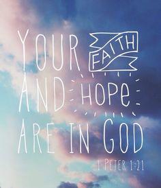 1 Peter 1:21