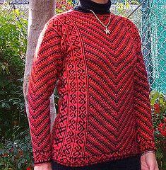 Ravelry: Turkish Maple Pullover pattern by Meg Swansen