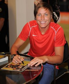 """Abby Wambach... MY """"Christian Grey.""""   :D (My very own Christian Grey flavored popsicle)  HAHA...shes amazing!!!!  My future wifey!"""