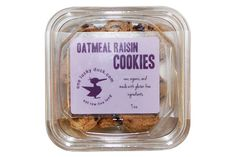 They're here! Delicious, healthy, and now GLUTEN-FREE oatmeal cookies! Back by popular demand are our One Lucky Duck oatmeal cookies, except we've tweaked the recipe, made them into a cute round shape, and we now use certified gluten-free oats!