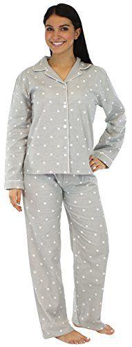 a586c9988e Women s Sleepwear - PajamaMania Womens Sleepwear Flannel Pajamas PJ Set    Want to know more