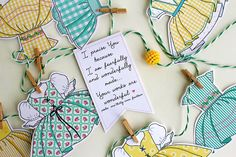 Dress Garland by Delightful Distractions