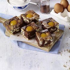 Stracciatella-Marmorkuchen mit Aprikosen Rezept | LECKER