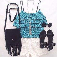 love  #istacute #fashion #love #beauty #sandals #croptop #purse #sunglasses #necklace by fashionnextdoor101