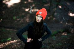 Neon winter cap. For those who sometimes get lost in the dark wood.  Fall-winter 2016–2017. #beanie Szaleo.pl | Be new fashioned & accessorized!