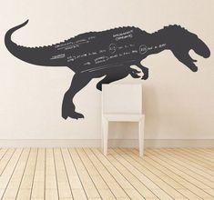 Sticker krijtbord kinderkamer dinosaurus