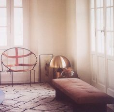 Love that chair! http://decdesignecasa.blogspot.it interior by quincoces-drago.com David Lopez Quincoces and Fanny Bauer Grung