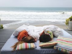 Fall asleep to the sound of the ocean...