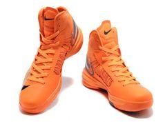 Nike Lunar Hyperdunk X 2012 James Shoes Orange/Gray/Red Orange Sneakers, High Top Sneakers, Sneakers Nike, Lunar Shoes, James Shoes, Shoe Gallery, Orange Grey, Gray, Nike Lunar