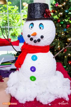 Create your own DIY Snowman Kit from @tmemme28! Catch #homeandfamily weekdays at 10/9c on Hallmark Channel!