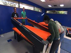 Looks like I'm going to need this - DIY Network step-by-step re-felting a pool table