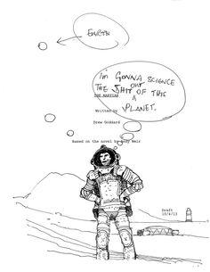 Ridley Scott sends his 'Martian' script into space | Inside Movies | EW.com