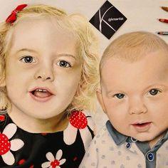 "[MARYROSE & DONNIE-JAY] 40 x 50 cm (tizas pastel) [MARYROSE & DONNIE-JAY] 15.7"" x 19.7"" (pastels)"