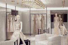 THE NEW VALENTINO luxury STORE CONCEPT