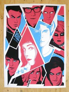 Ron Guyatt's Poster for Fan Expo Canada, Scott Pilgrim vs The World. 3 colour x screen print. Fan Expo Canada spans Aug 22 – find Ron and his prints at tabl… Scott Pilgrim, Screen Print Poster, Poster On, Bryan Lee O Malley, Ramona Flowers, Vs The World, Movie Collection, Shows, Comic Art