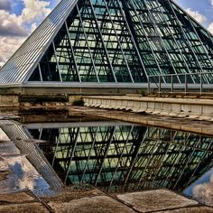 The Muttart Conservatory - one of my favourite places in Alberta. Conservatory, Nostalgia, Commercial, Louvre, Wanderlust, Museum, Activities, Building, Places