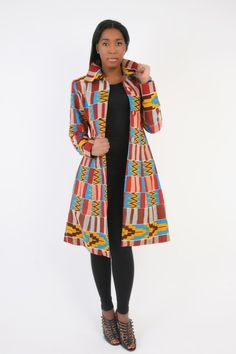Could use aso oke to do the same African Fashion Ankara, African Inspired Fashion, African Print Fashion, African Wear, Fashion Prints, African Prints, African Attire, Fashion Styles, Fashion Dresses